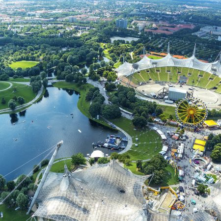 Olympiapark und Stadion München